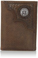 Ariat Men's Oil Rig Concho Trifold Wallet