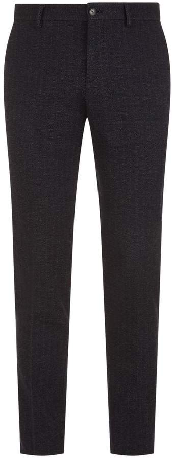 Etro Chevron Wool Trousers