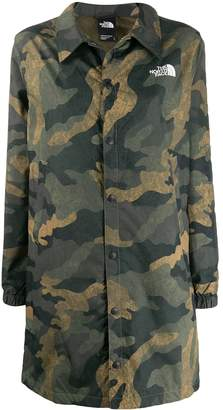 The North Face Camouflage Graphic Coach jacket