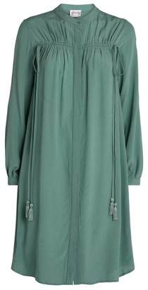 Maryan Mehlhorn Ruched Tunic