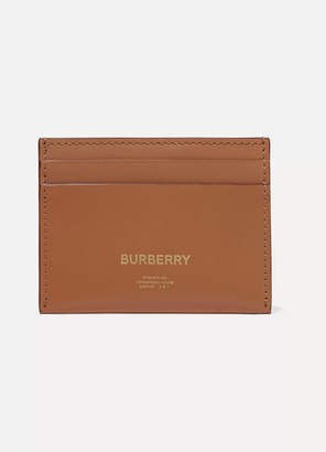 Burberry Leather Cardholder - Light brown