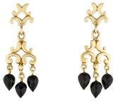 Robin Rotenier 18K Onyx Drop Earrings