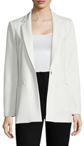 ABS by Allen Schwartz Twill Notch Lapel Jacket