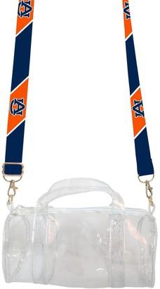 clear Unbranded Auburn Tigers Kay Kay Mini-Duffle Purse