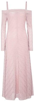 Missoni Knit off-the-shoulder midi dress