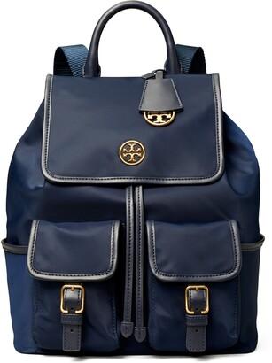 Tory Burch Piper Flap Nylon Backpack