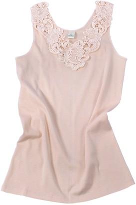 Van Cleef & Arpels Ladies Shirt - Undershirt Underwear With Extra Large Lace