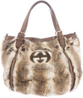 Gucci Fur Britt Bag