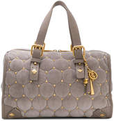 Juicy Couture quilted stud tote bag
