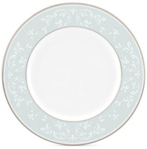 Lenox Opal Innocence Blue Accent Plate