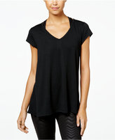 Jessica Simpson The Warm Up Juniors' Mesh-Back T-Shirt