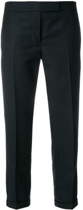 Thom Browne stripe detail wool trousers