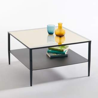 La Redoute La RAZZI Steel and Glass Coffee Table