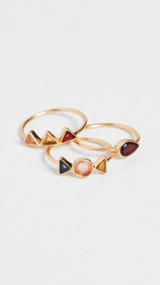 Madewell Stacking Rings