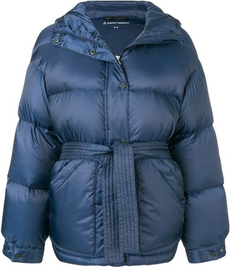 Perfect Moment hooded oversized jacket
