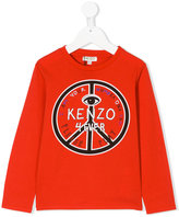 Kenzo long sleeve printed T-shirt - kids - Cotton - 2 yrs