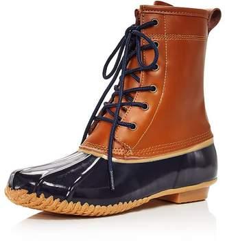Khombu Women's Waterproof Duck Boots