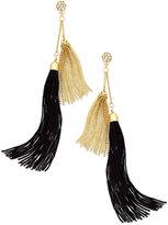 Thalia Sodi Two-Tone Tassel Earrings, Only at Macy's