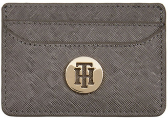 Tommy Hilfiger Metallic Finish Credit Card Holder