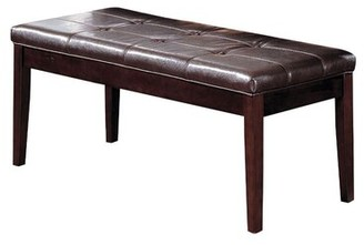 Red Barrel Studio Ariquer Faux Leather Bench