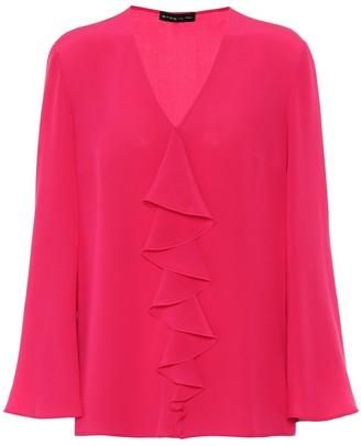Etro Silk-crepe blouse