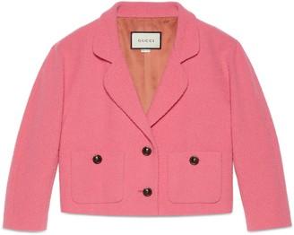 Gucci Wool tweed jacket