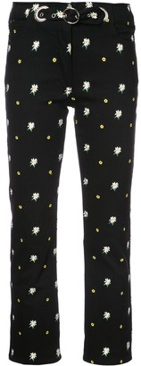 Miaou Daisy Embroidered Trousers