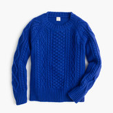 J.Crew Boys' cable-knit sweater