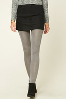 Forever 21 Ribbed Knit Tights
