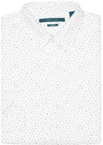 Perry Ellis Mini Triangle Print Shirt
