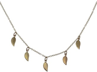 Clara Lifestyle Golden Leaf Necklace