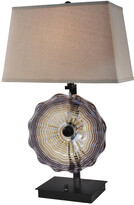 Dale Tiffany Springdale By Springdale 28.5In Impasto Hand Blown Art Glass Table Lamp