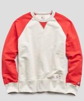 Todd Snyder + Champion Colorblock Raglan Sweatshirt
