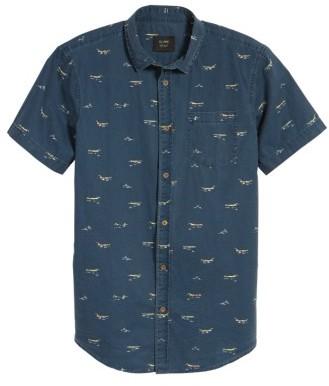 Globe Men's Freestyle Print Shirt
