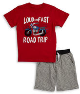Kids Headquarters Boys 2-7 Boys Two-Piece Top & Shorts Set
