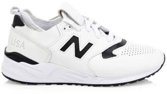 New Balance 999 Made in USA Leather Sneakers
