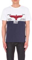 Boy London Rugby print cotton t-shirt