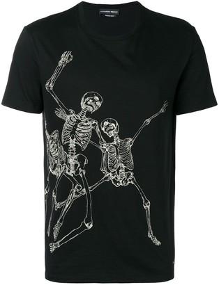 Alexander McQueen skeleton print T-shirt