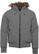 Gotcha Mens Bomber Jacket Grey
