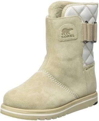 Sorel Women's Rylee Snow Boots Grey (Ancient Fossil Sea Salt) 8 UK 41 EU