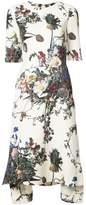 ADAM by Adam Lippes printed short-sleeve trapeze dress