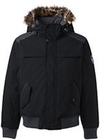 Classic Men's Expedition Bomber Jacket-Faux Mink