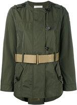 Moncler Pommier belted jacket