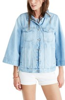 Madewell Women's Bell Sleeve Denim Jacket