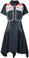 Peter Pilotto Navajo shirt dress - women - Cotton/Linen/Flax - 6