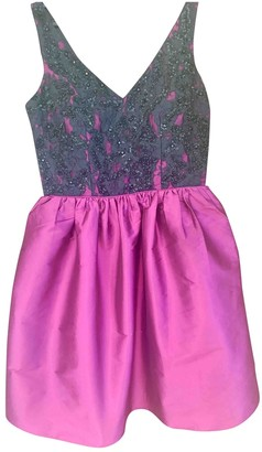 Aidan Mattox Purple Lace Dress for Women