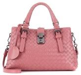 Bottega Veneta Roma Mini Leather Shoulder Bag