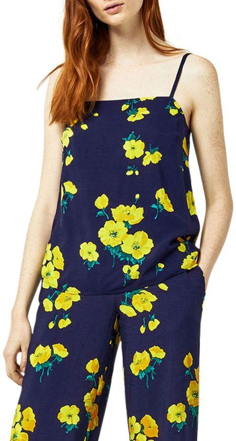 Warehouse Delia Floral Print Cami