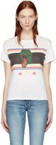 Saint Laurent White Dino T-shirt