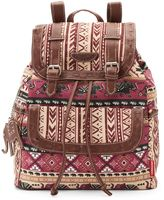 UNIONBAY Tribal Elephant Print Backpack